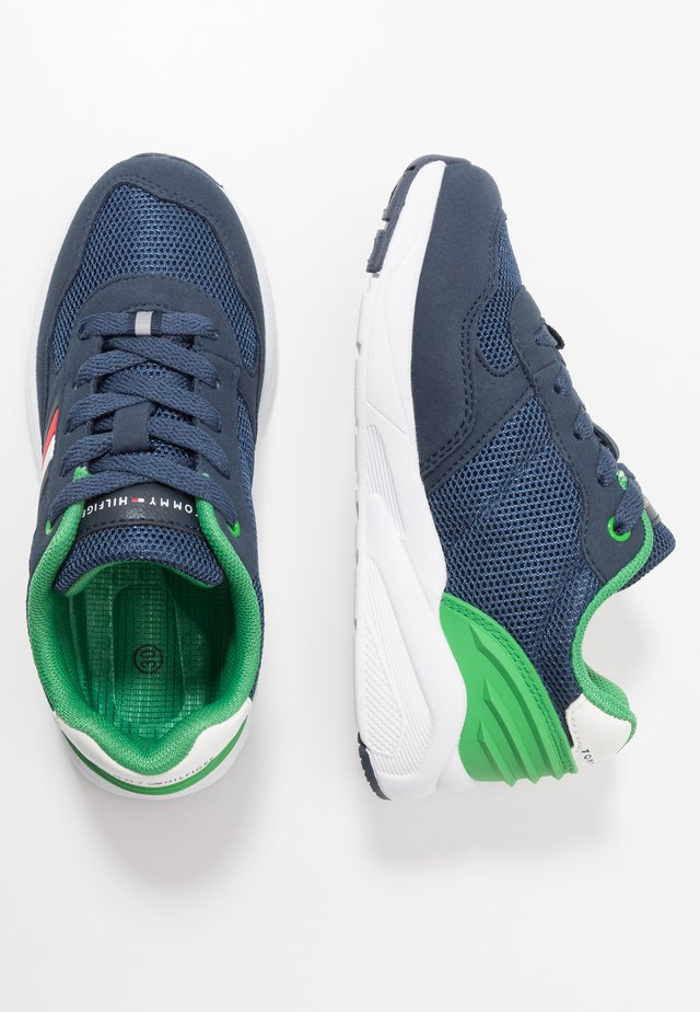 Trainers - blue/green