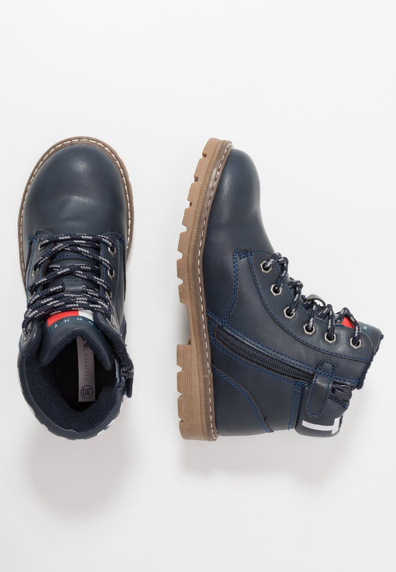 Tommy Hilfiger - Lace-up ankle boots - blue