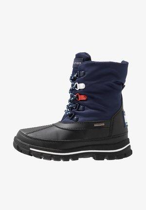 Snowboot/Winterstiefel - black/blue