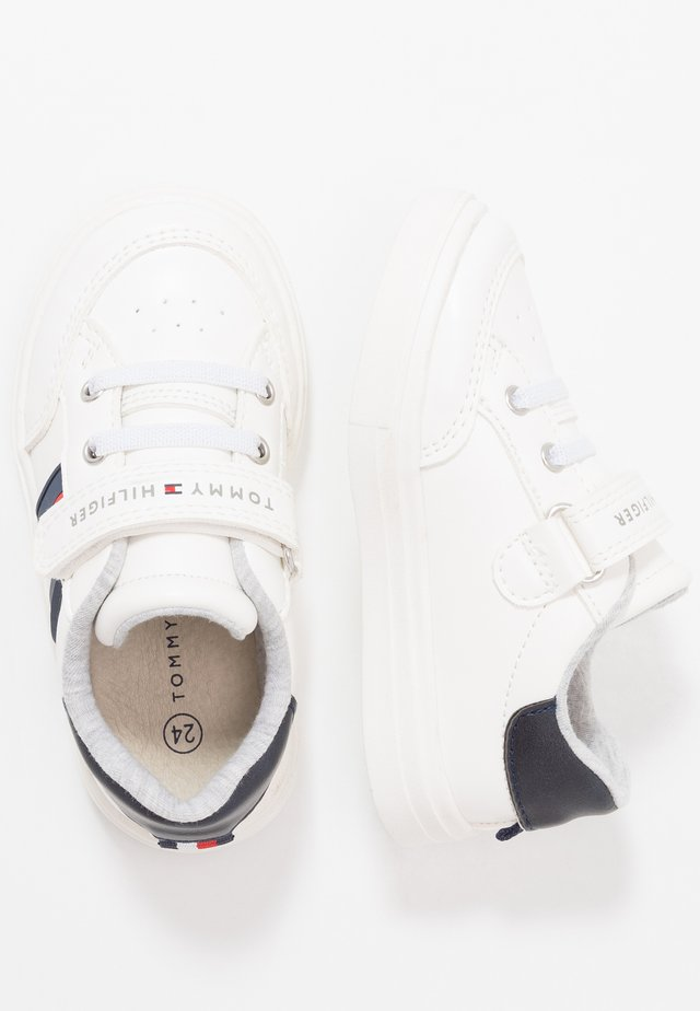 Sneakers laag - white/blue