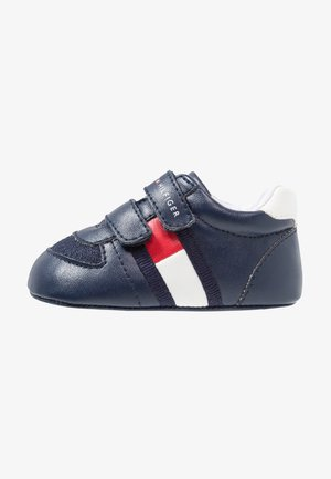 First shoes - blue/white