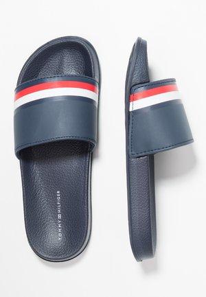 POOL SLIDE - Pantofle - blue