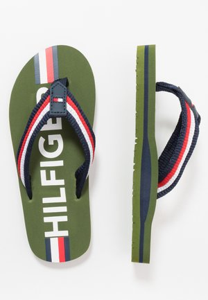 Infradito - military green/multicolor