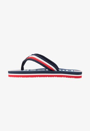 T-bar sandals - blue/multicolor