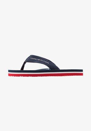 Sandaler m/ tåsplit - blue
