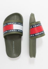 Tommy Hilfiger - Mules - military green - 0