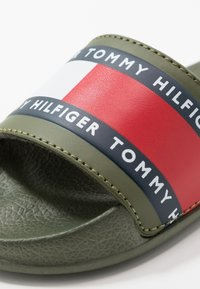 Tommy Hilfiger - Mules - military green - 2