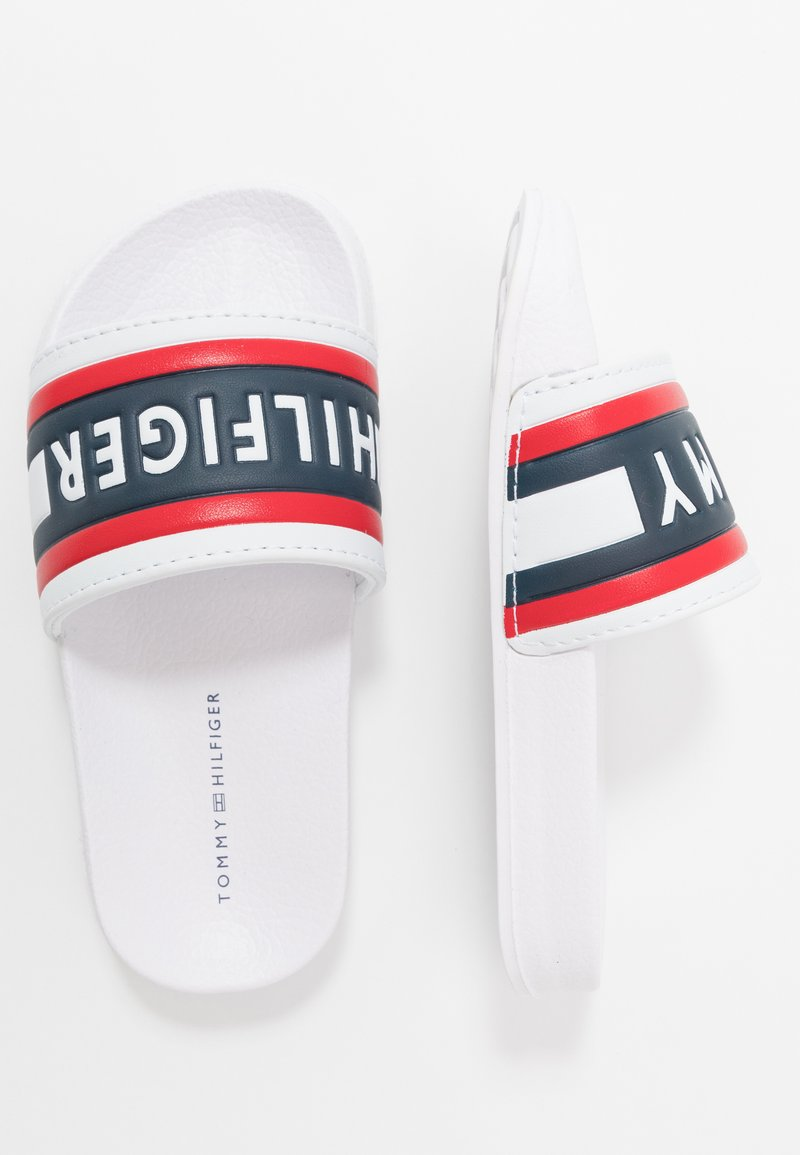 Tommy Hilfiger - Pantofle - white/red/blue