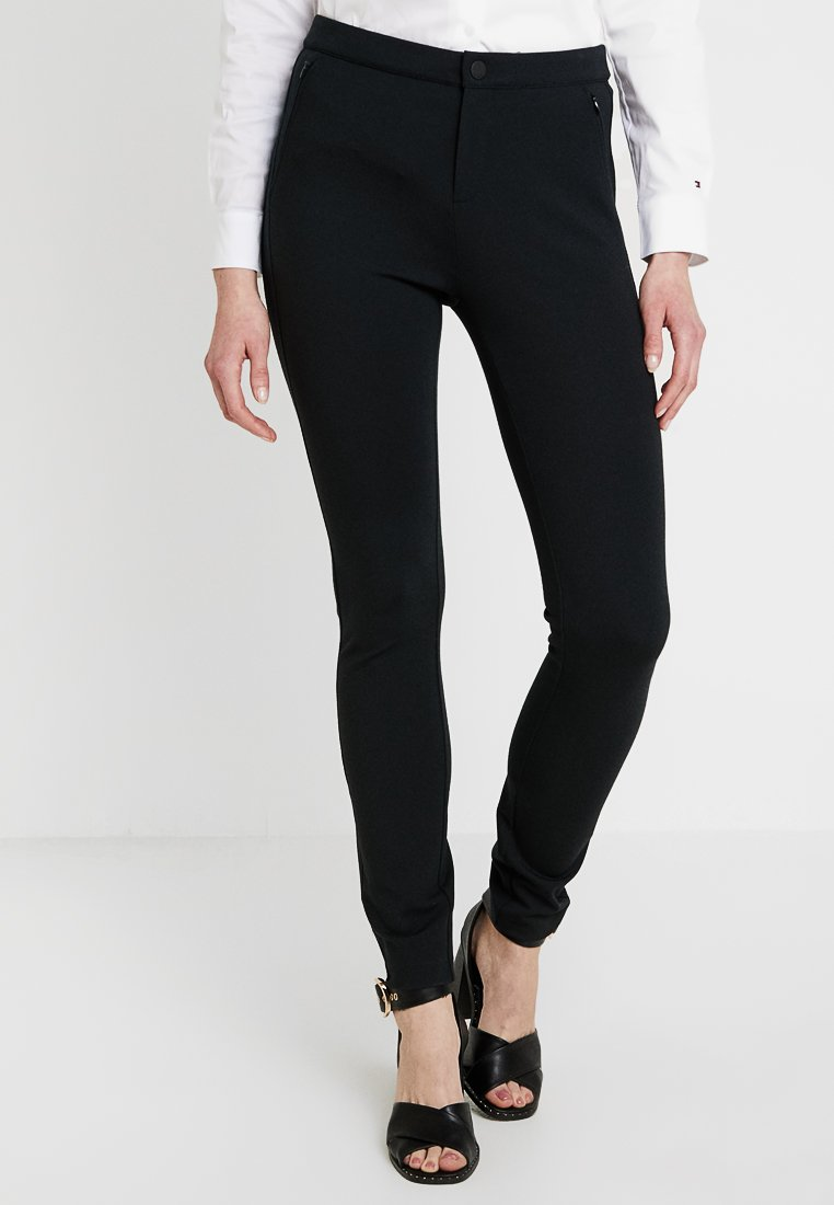 Tommy Hilfiger - HERITAGE FIT PANTS - Trousers - masters black