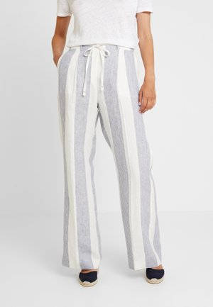 MARTINA PULL ON PANT - Pantalon classique - blue