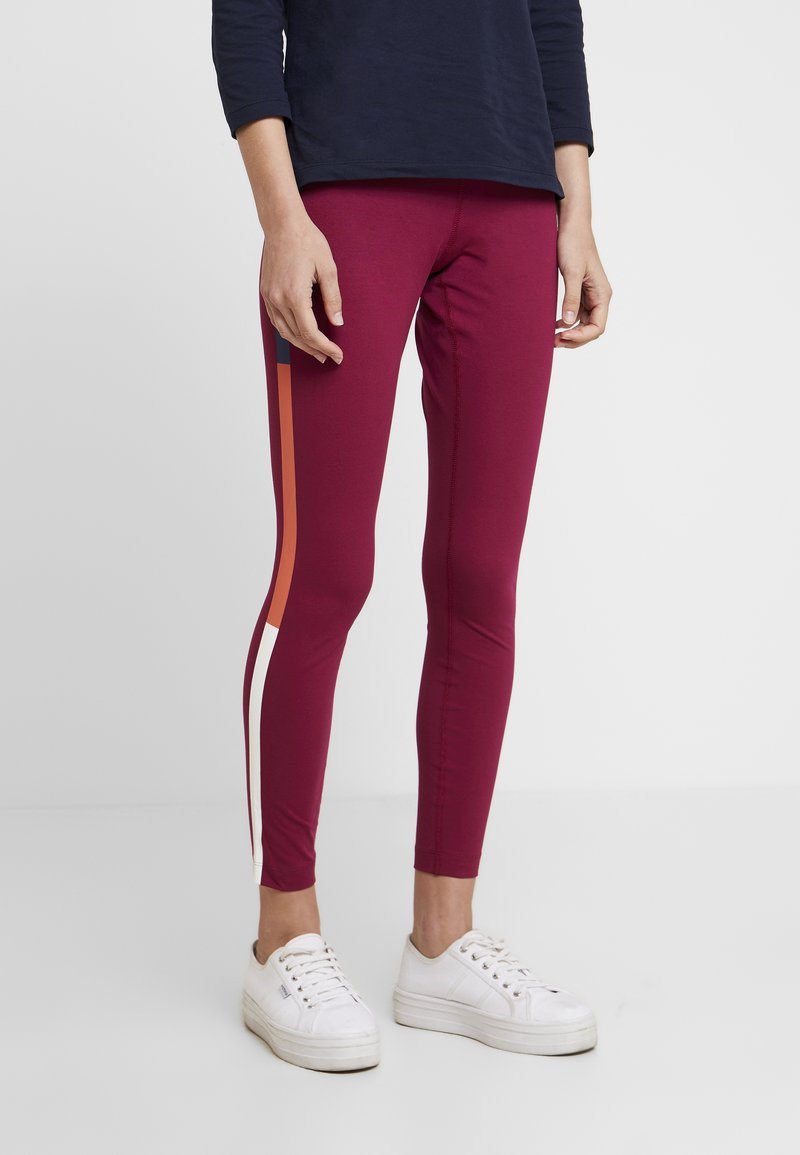 Tommy Hilfiger - COCO - Leggings - Trousers - purple