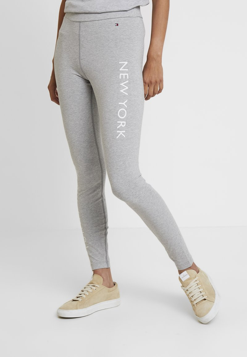 Tommy Hilfiger - CATO - Leggings - Trousers - grey
