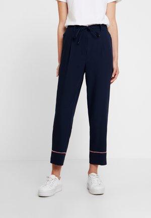 PALOMA PULLON PANT - Pantalon classique - blue
