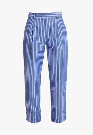 POMELO PLEATED ICON PANTS - Kalhoty - blue