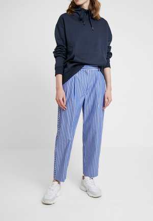 POMELO PLEATED ICON PANTS - Trousers - blue