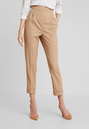 ESSENTIAL FLEX PULLON - Trousers - beige