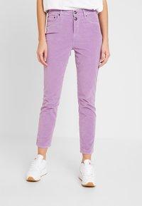 Tommy Hilfiger - TRISHA PANT - Spodnie materiałowe - dusty lilac - 0