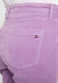 Tommy Hilfiger - TRISHA PANT - Spodnie materiałowe - dusty lilac - 5