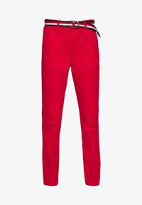 Tommy Hilfiger - SLIM FIT CHINO - Chinos - primary red - 4