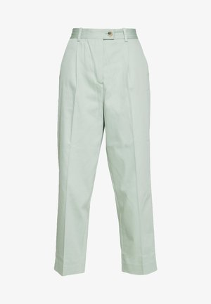 TAPERED PANT - Trousers - sea mist mint
