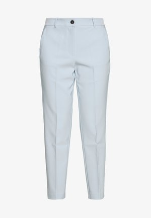 BISTRETCH POLY SLIM  - Trousers - breezy blue