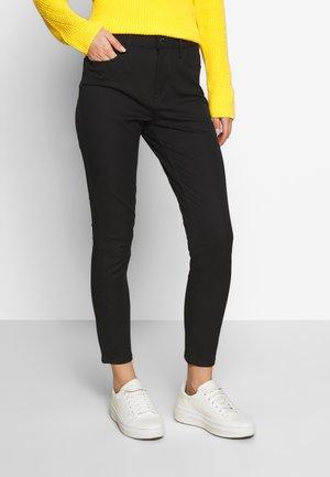 GABARDINE PANT - Kalhoty - black