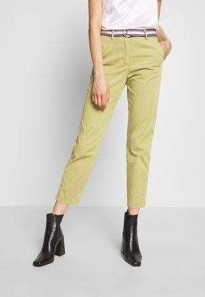 SLIM PANT - Chinos - faded olive