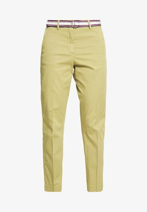 SLIM PANT - Chinosy - faded olive