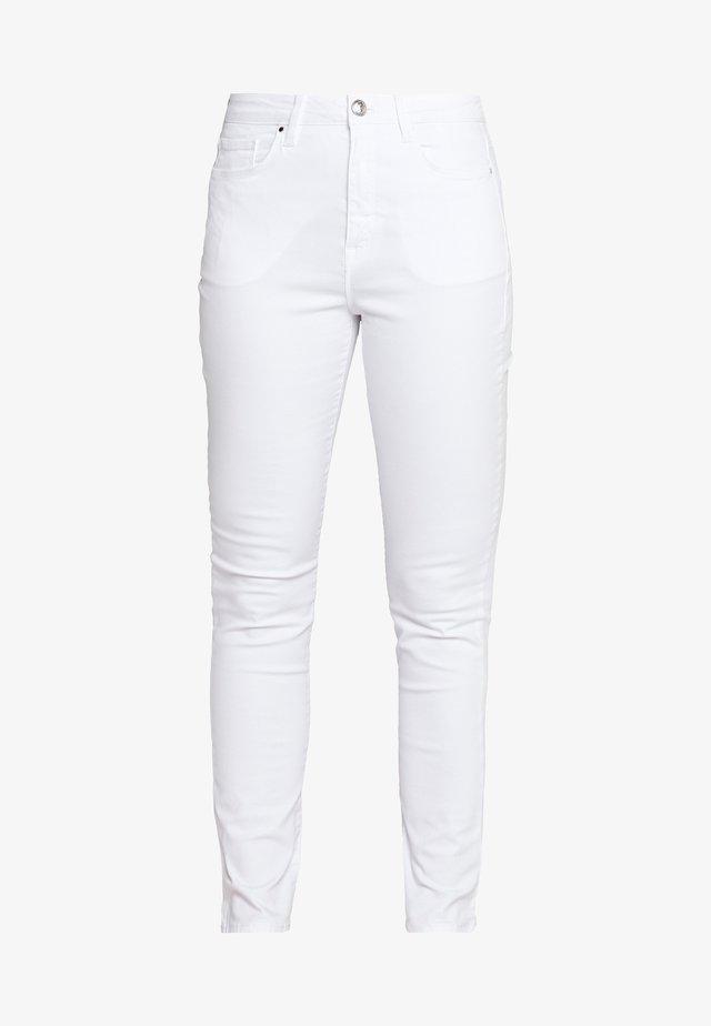 STRETCH PANT - Spodnie materiałowe - optic white