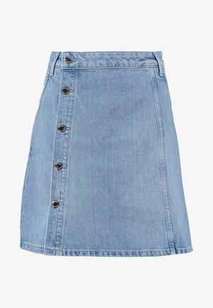 WRAP SKIRT DELIA - A-snit nederdel/ A-formede nederdele - blue denim