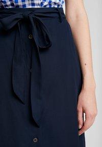 Tommy Hilfiger - RANU SKIRT - A-line skirt - blue - 3