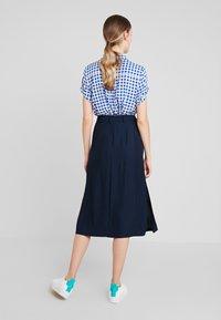 Tommy Hilfiger - RANU SKIRT - A-line skirt - blue - 2