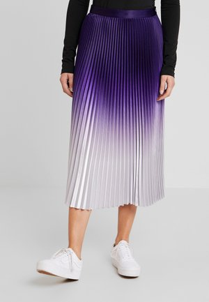 DAISY SKIRT - Plooirok - nocturnal purple
