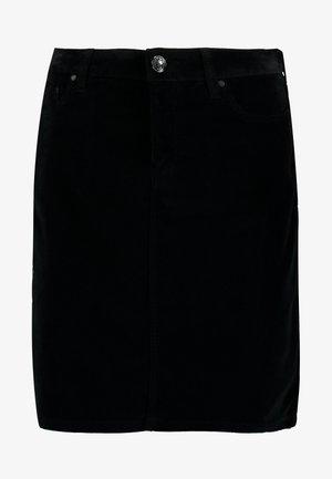 TRISHA SKIRT - A-lijn rok - black