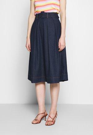 SKIRT UTA - Spódnica trapezowa - dark blue