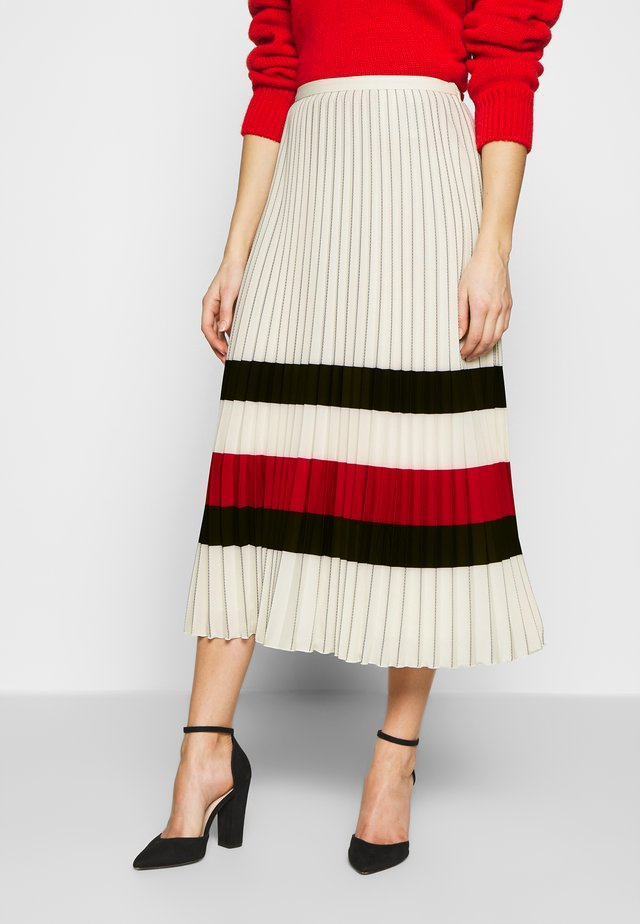 ICON SKIRT - A-line skirt - ivory