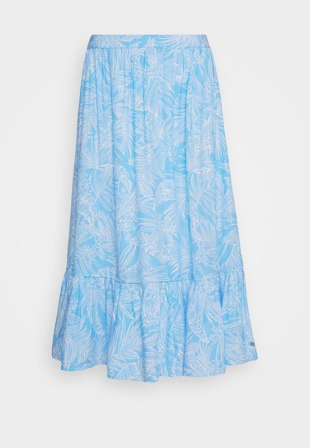 RAELIN SKIRT - A-line skirt - light iris blue