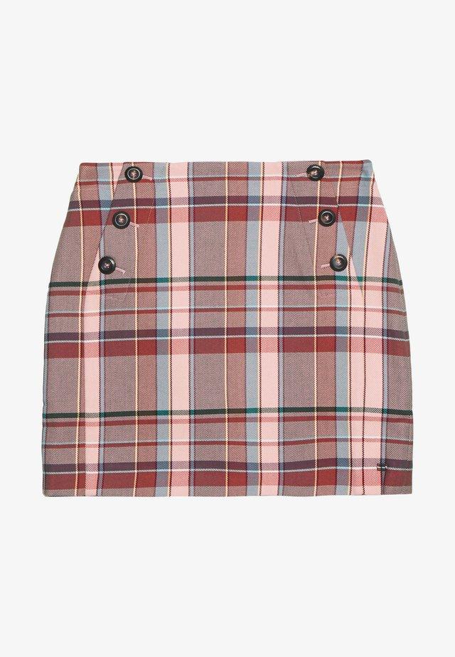 BLEND CHECK MINI SKIRT - Minifalda - multi-coloured