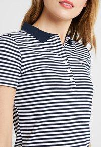 Tommy Hilfiger - NEW CHIARA POLO DRESS - Vestido ligero - blue - 4