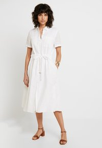 Tommy Hilfiger - DAKOTA DRESS - Shirt dress - white - 0