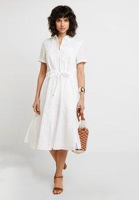 Tommy Hilfiger - DAKOTA DRESS - Shirt dress - white - 1