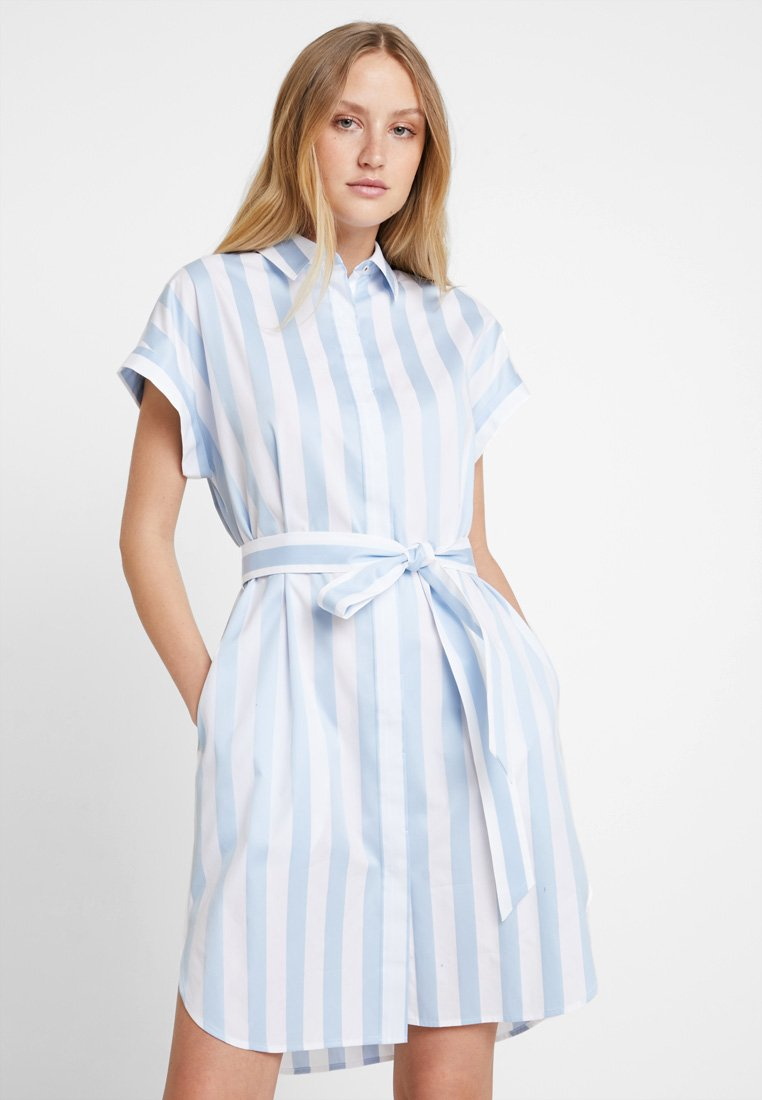 Tommy Hilfiger - ESSENTIAL DRESS - Blusenkleid - blue
