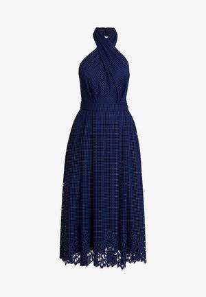 HELENA HALTER DRESS - Maxiklänning - blue