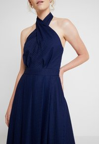 Tommy Hilfiger - HELENA HALTER DRESS - Maxikjole - blue - 6