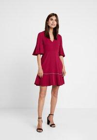 Tommy Hilfiger - FENYA DRESS - Day dress - purple - 1