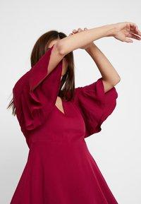 Tommy Hilfiger - FENYA DRESS - Day dress - purple - 3