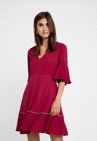 Tommy Hilfiger - FENYA DRESS - Day dress - purple - 0