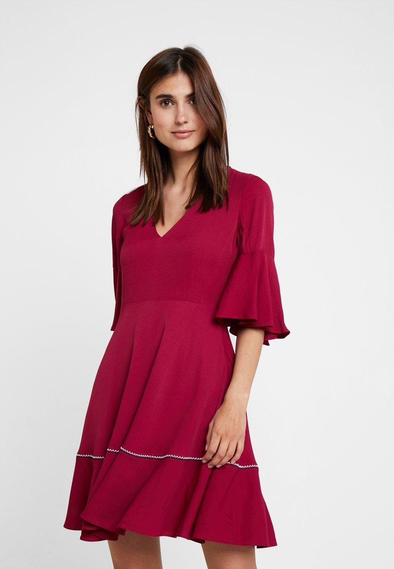 Tommy Hilfiger - FENYA DRESS - Day dress - purple