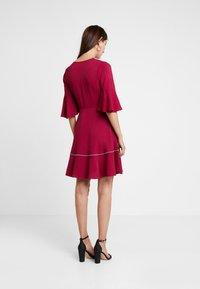 Tommy Hilfiger - FENYA DRESS - Day dress - purple - 2