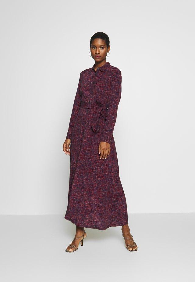 KACY DRESS  - Vestito lungo - desert sky/red